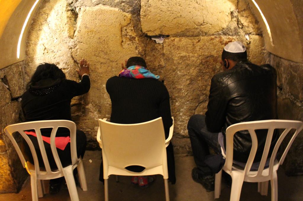Rabbinical Tunnel at the Wailing Wall