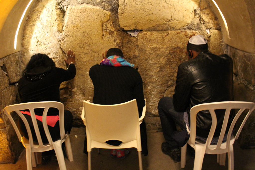 Rabbinical Tunnel at the Wailing Wall